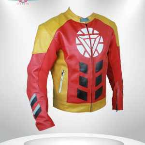 Tony Stark Heart Logo Jacket