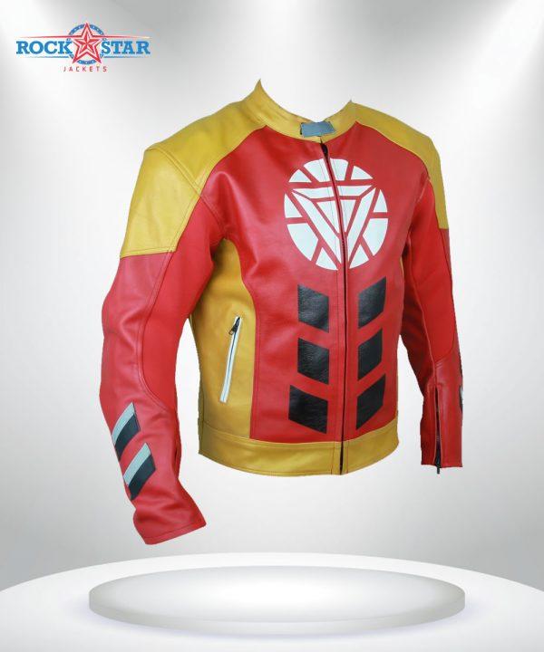 Tony Stark Heart Logo Jacket
