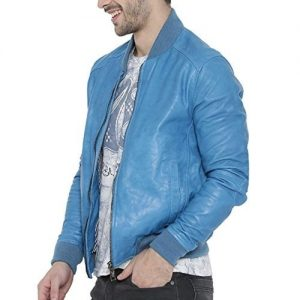 light blue color jacket