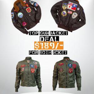 top gun maverick Jacket deals