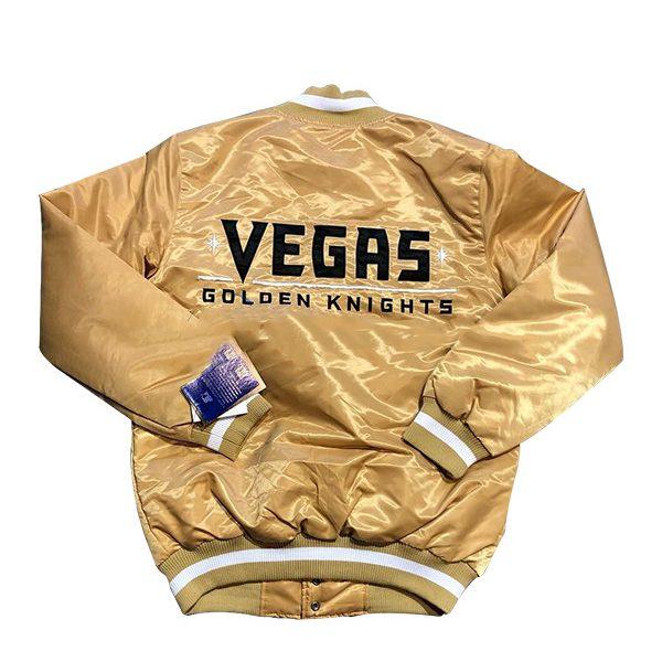 vegas golden knights golden jacket