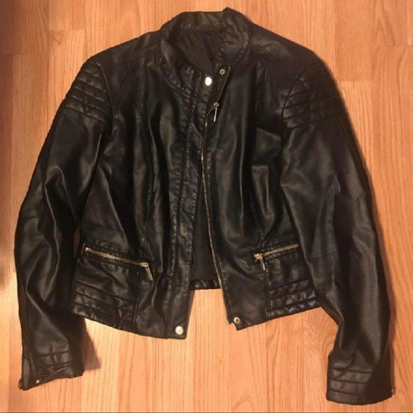 A.n.a Black Faux Leather Jacket