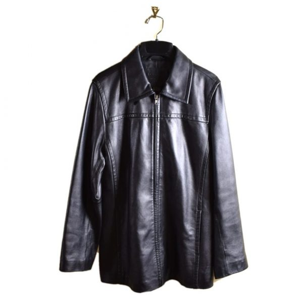 Coach Black Leather Jacket