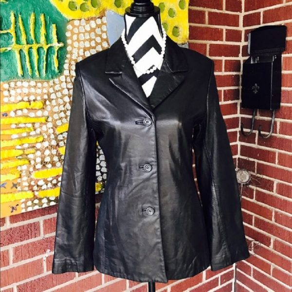 Couture By J. Park Genuine Leather Jacket