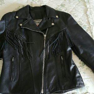 Dallas Fringed Riding Leather Jacket