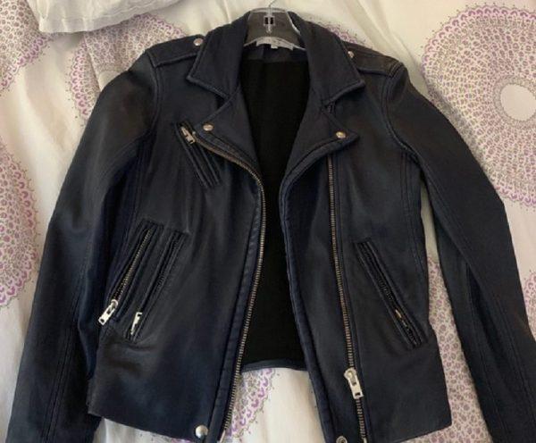 IRO Han Moto Leathers Jacket