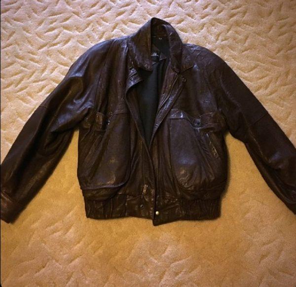 J Walden Brown Leather Jacket