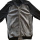 Men Louis Vuitton Blue Leather Jacket