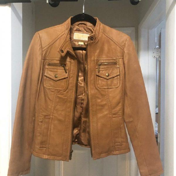 Mens Michael Kors Leathers Jacket