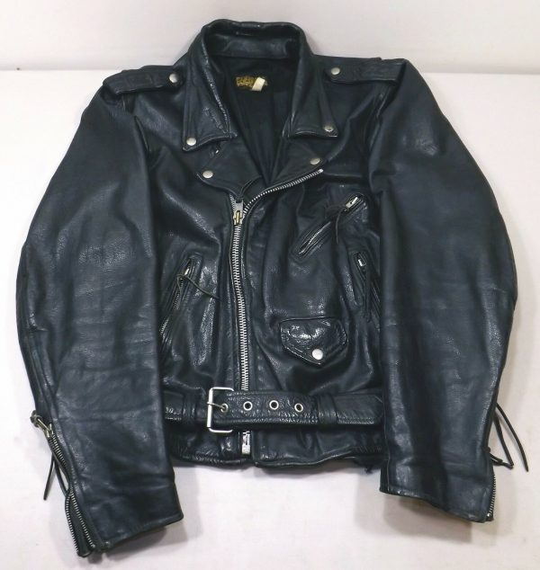 Men's Protech Apparel Motorcycle Leather Jacket
