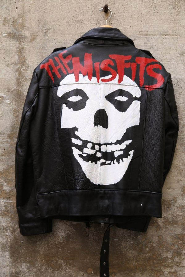 Misfits Jacket Punks Motorcycle Leather Jacket