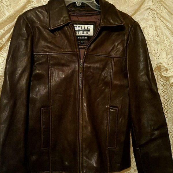 Pelle Studio Wilsons Brown Leather Jacket