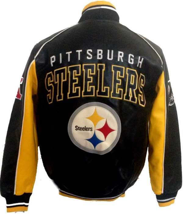 Pittsburgh NFL Steelers Leather Jackets