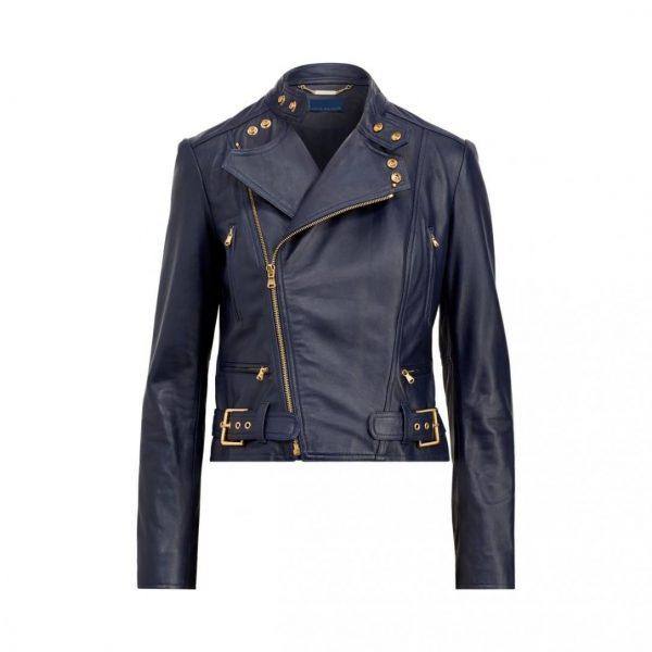 Ralph Lauren Leather Jacket Womens