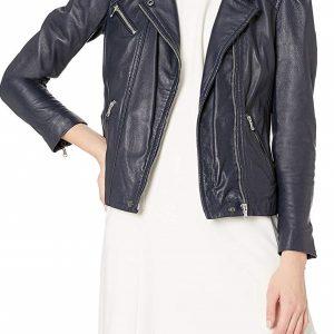 Rebecca Taylor Biker Leather Jacket