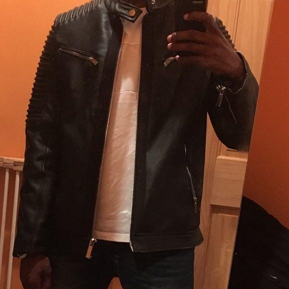 Robert Phillipe Newzealand Black Leather Jacket