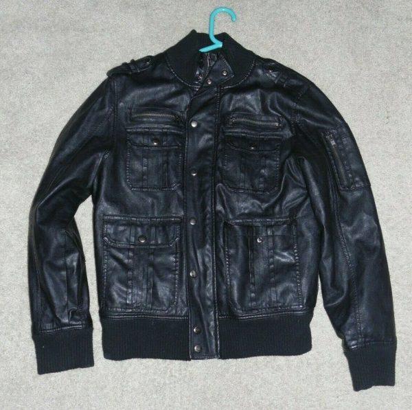 Rock & Republic Black Leather Jacket