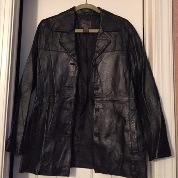Uniform John Paul Richard Leather Blazer