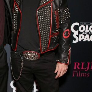 Vista Theatre Color Out Of Space Premiere Steel Nail Studded Leather Jacket