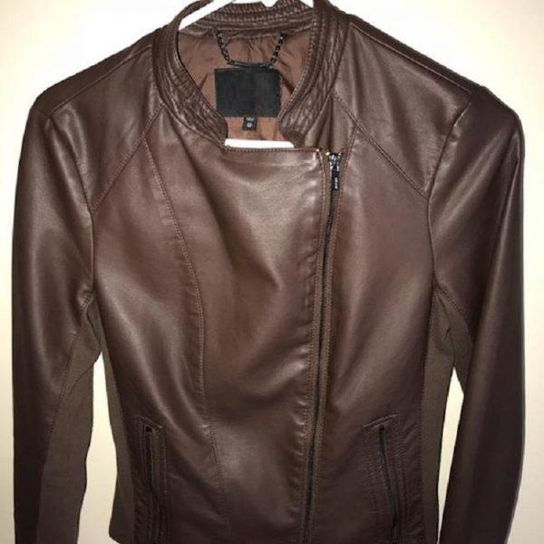 Women's Express Brown (Minus The) Moto Jacket