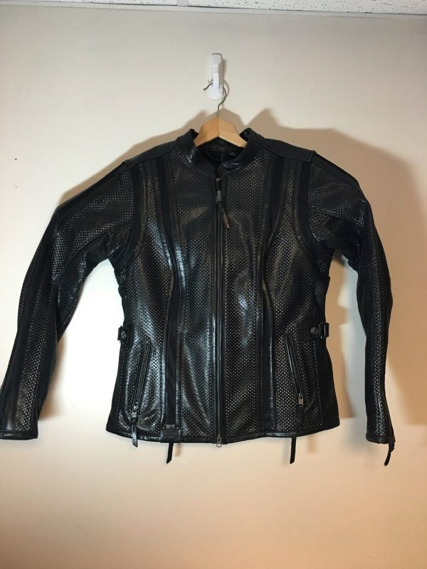 Women's Perforated Coolcore Leather Jacket