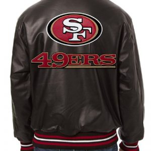 49ers Leather Jacket