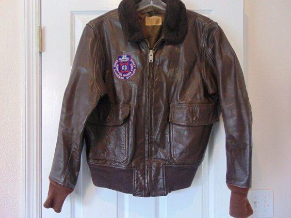 Airborne Leather Jacket
