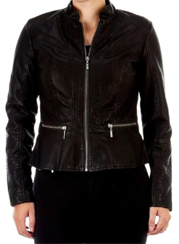 Baccini Leather Jacket