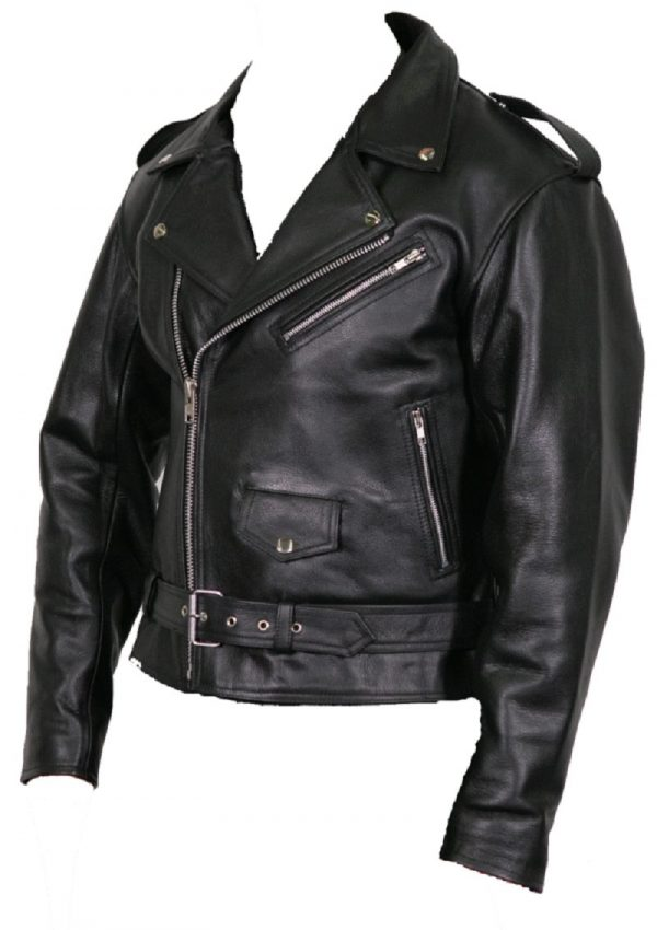 Bikers Club Leather Jacket