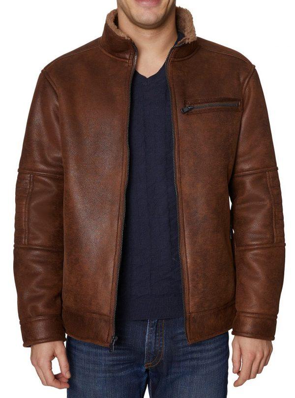 Buffalo David Bitton Leather Jacket