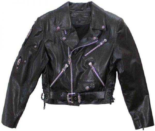 Chrome Hearts Leather Jacket