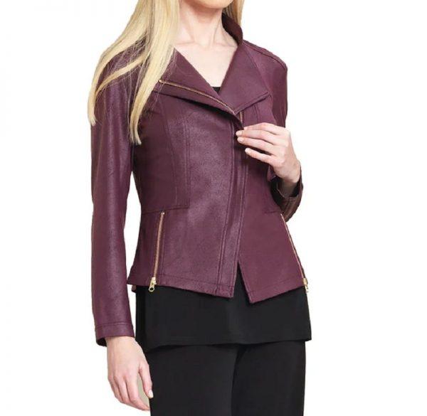Clara Sunwoo Liquid Leather Jacket