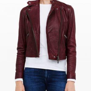 Club Monaco Leather Jacket