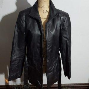 Croft And Barrow Leather Jacket Womens