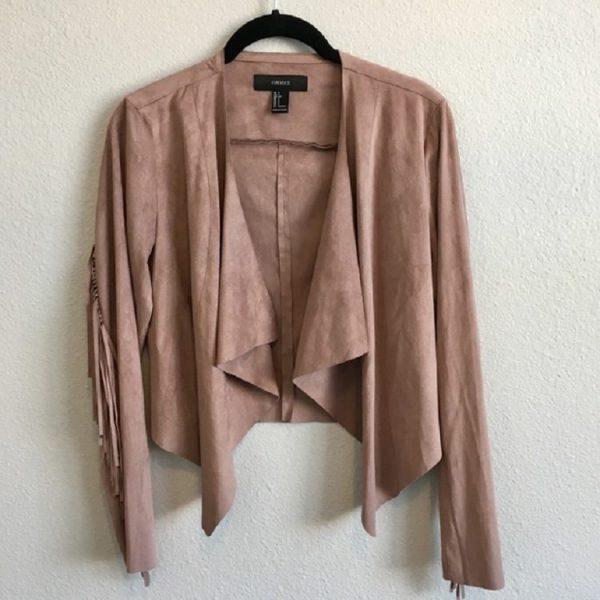 Fringe Leather Jacket Forever 21