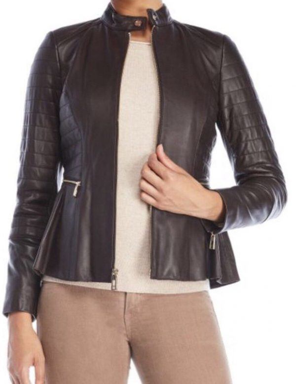 Ivanka Trumps Leather Jacket
