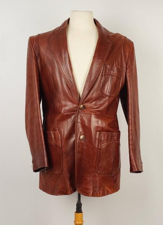 J Riggings Leather Jacket