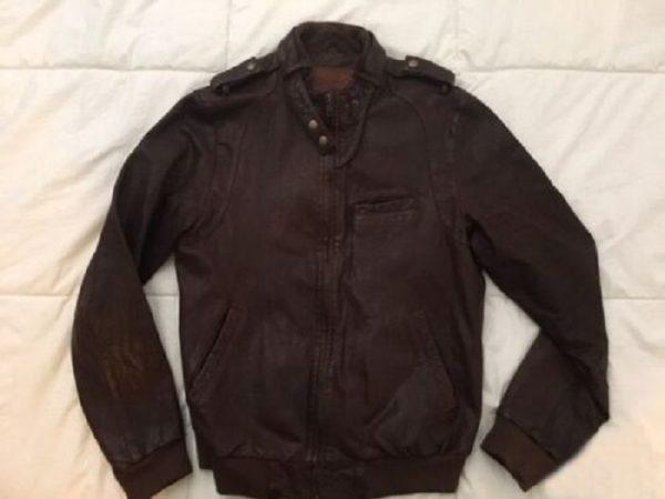 Jean Shops Leather Jacket