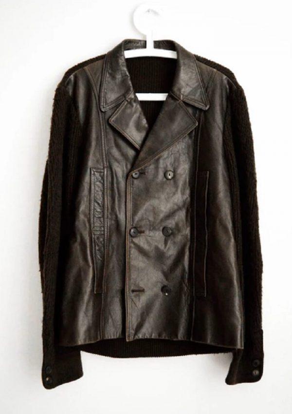 Kurt Cobain Leather Jacket