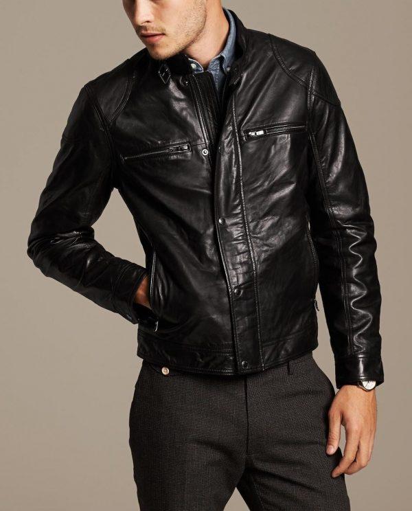 Leather Jacket Banana Republic