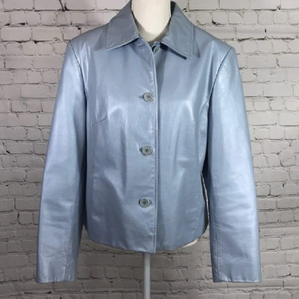 Lord And Taylor Leather Jacket
