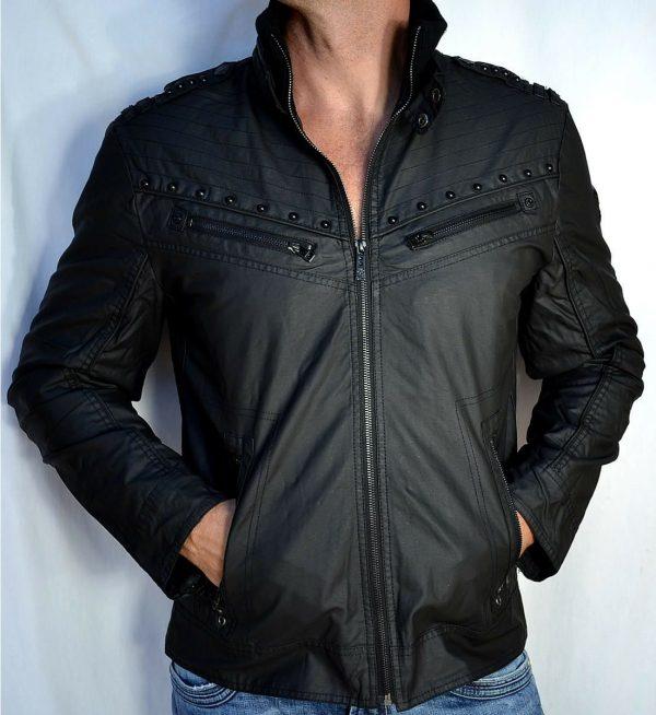 Organic Leather Jacket