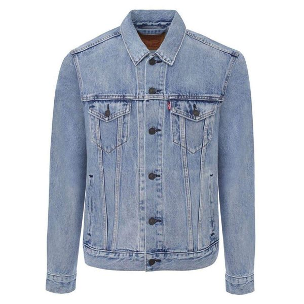 Pardon My French Painted Denim Jacket