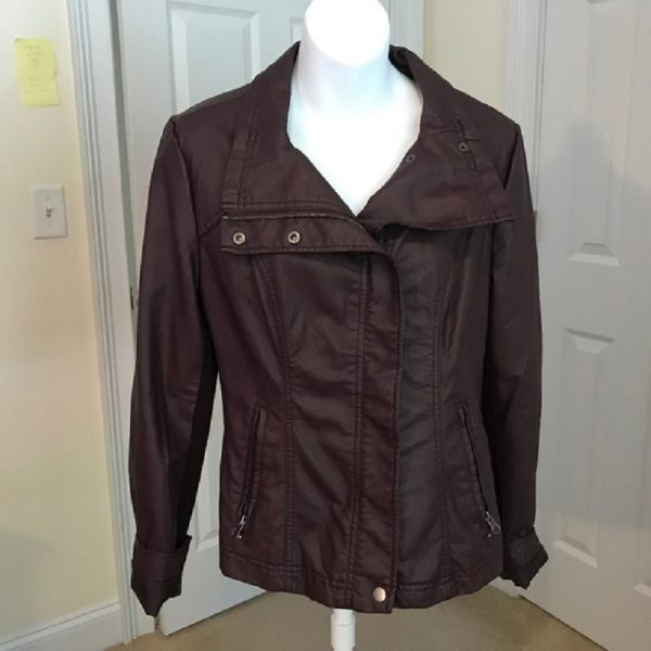 Rd Style Rhonda Faux Leather Jacket