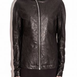 Rick Owens Leather Jacket Mens
