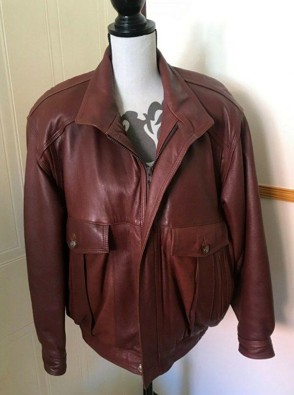 Savannah Leather Jacket