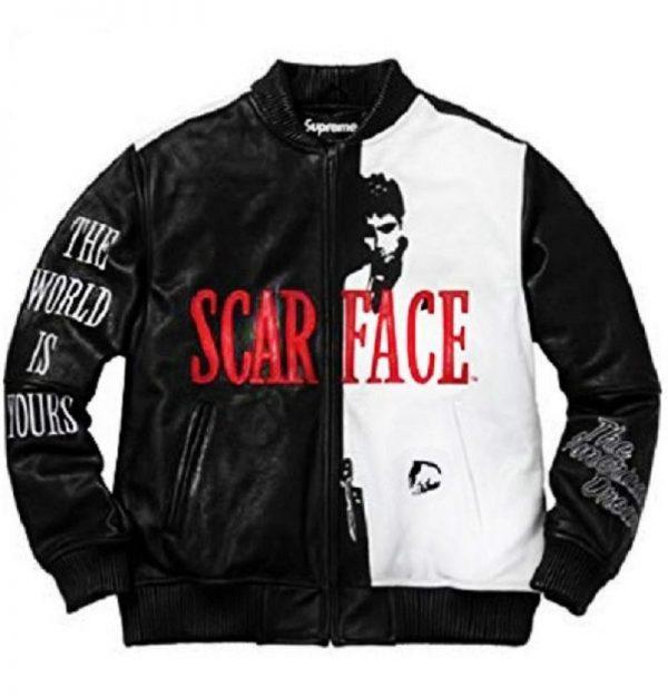 Scarface Leather Jacket