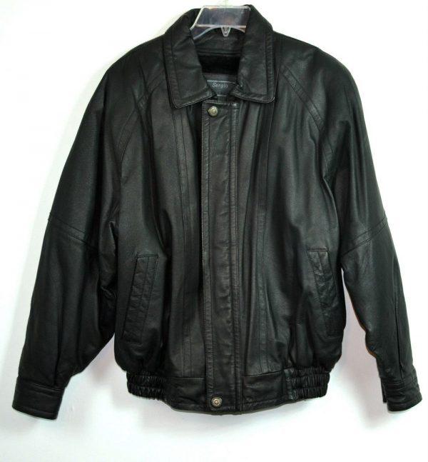 Sergio Vadducci Leather Jacket