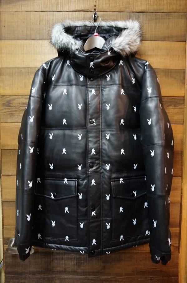 Supreme Playboy Leather Jacket