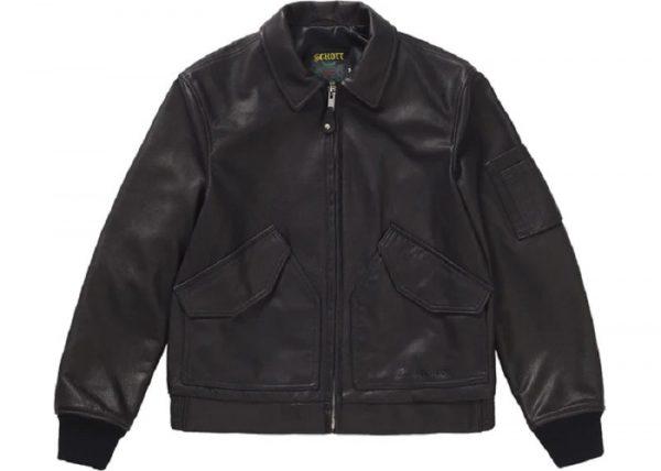Supreme Schotts Leather Jacket